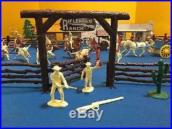 Marx Playset 1959 THE RIFLEMAN RANCH #3997-98