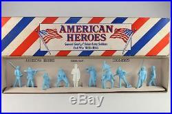 Marx Playset 60MM SP Powder Blue ACW Union American Heros BOXED