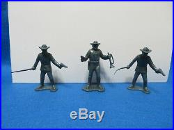 Marx Polka-Dot box set 60mm Cavalry soldiers & Horses 18 pieces -1950's
