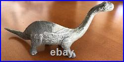 Marx Prehistoric Dinosaur Brontosaurus Heavy Marbling Must See