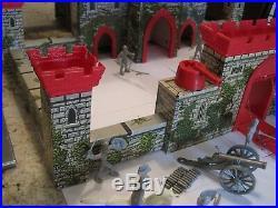 Marx Prince Valiant Castle Playset-#4710-1950's