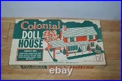 Marx Rare Colonial Doll House - Mint - Sealed # 4072