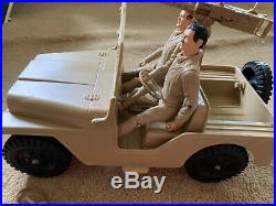 Marx Rat Patrol Jeep, 2 Action Figures and Accessories