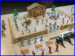 Marx Revolutionary War Play Set Series 500 Box#3401