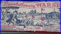Marx Revolutionary War Set Series 1000