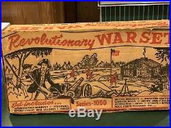 Marx Revolutionary War Set Series 1000 Box#3404