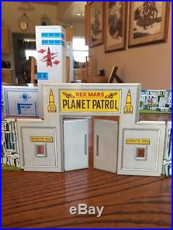 Marx Rex Mars Planet Patrol Playset Complete With Box And Packaging