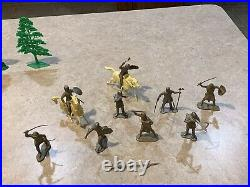 Marx Richard Greene Robin Hood Play Set Box#4722