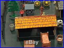 Marx Rifleman Ranch Play Set No Box