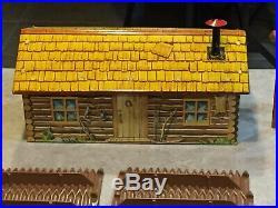 Marx Rin Tin Tin Fort Apache Play Set And Box