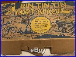 Marx Rin Tin Tin Fort Apache Playset #3627- The One