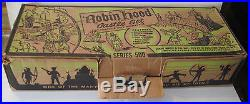 Marx Robin Hood 4723 Series 500 Playset WithBox