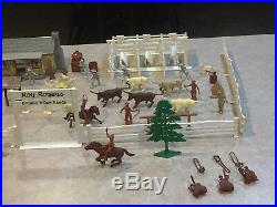 Marx Roy Rogers Double R Bar Ranch Box#3989