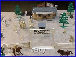 Marx Roy Rogers Double R Bar Ranch Play Set Box#3989