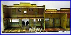 Marx Roy Rogers Mineral City Western City Tin Litho Playset withAccessories