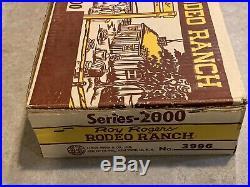 Marx Roy Rogers Rodeo Ranch Play Set Series 2000 Box#3996