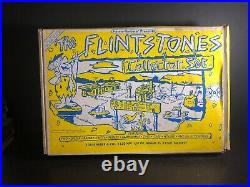 Marx Ruby Edition The Flintstones Bedrock Collector Set Complete Sealed Pieces
