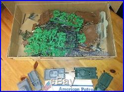 Marx Sears All State American Patrol Play Set Box #6058