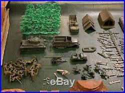 Marx Sears-All State Army Combat Set Battleground Box #6017