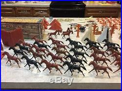 Marx Sears All State Fort Apache Play Set Box#6059