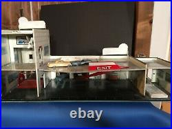 Marx Sears Allstate Happi Time Service station with elevator Tin Toy vintage