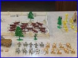 Marx Sears Allstate Ranch Set Box#5950
