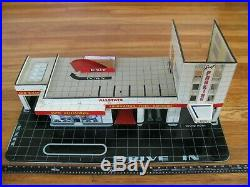 Marx / Sears Allstate Tin Litho Happy Time Service Gas Station Parts / Restore