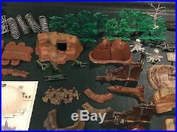 Marx Sears Allstate World War II Play Set Box#5939 Battleground