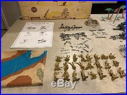 Marx-Sears Battleground Desert Fox Set Box#59922