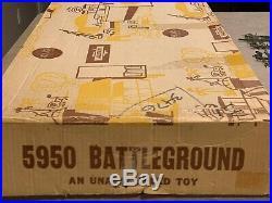 Marx-Sears Battleground European Theater Set Box#5950