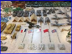 Marx Sears Battleground European Theater WWII Play Set Box #5949