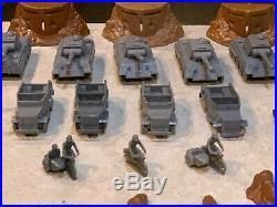 Marx Sears Battleground Tank Battle Set Box#6056