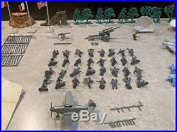 Marx-Sears Battleground World War II Eurpoean Theater Set Box#5949