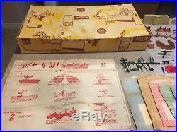 Marx Sears D-Day Battleground Play Set Box#6012