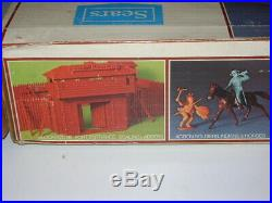 Marx Sears Exclusive Fort Apache Playset # 3686 Sealed Box With Blockhouse