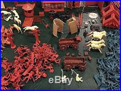 Marx Sears Fort Apache Play Set Box #5962