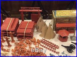 Marx Sears Fort Apache Play Set Box#6059