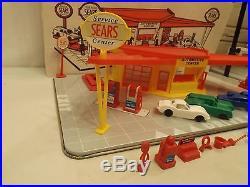 Marx Sears Service Center gas station in original box