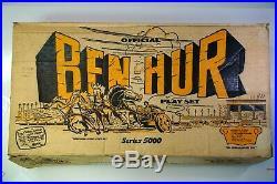Marx Series 5000 Ben-Hur Original Box, Instructions, Dividers and Bags