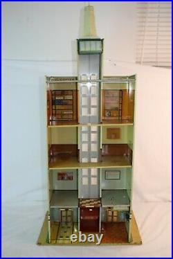 Marx Skyscraper Building Playset, Original