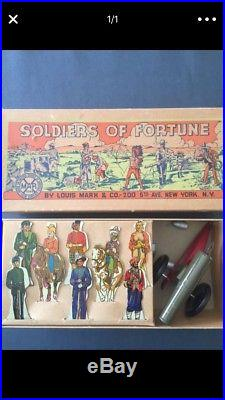 Marx Soldiers of Fortune Boxed Playset