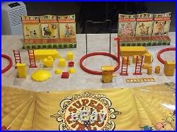 Marx Super Circus Play Set With Box