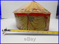 Marx Super Circus Tent Playset With (2) Stages American Flyer Ives Lionel