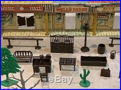 Marx Tales Of Wells Fargo Play Set Box#54762