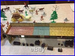 Marx Tales Of Wells Fargo Play Set Box#54762