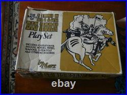 Marx The Battle of Little Big Horn Play Set 1972 # 4679 MO