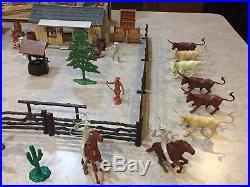 Marx The Rifleman Ranch Play Set Box#3998