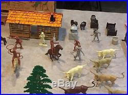 Marx The Rifleman Ranch Play Set Series 1000 Box#3998