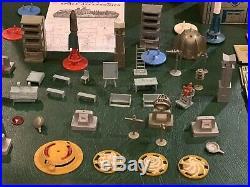 Marx Tom Corbett Space Academy Play Set Box#7009