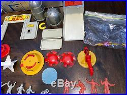 Marx Tom Corbett Space Academy Play Set With Box